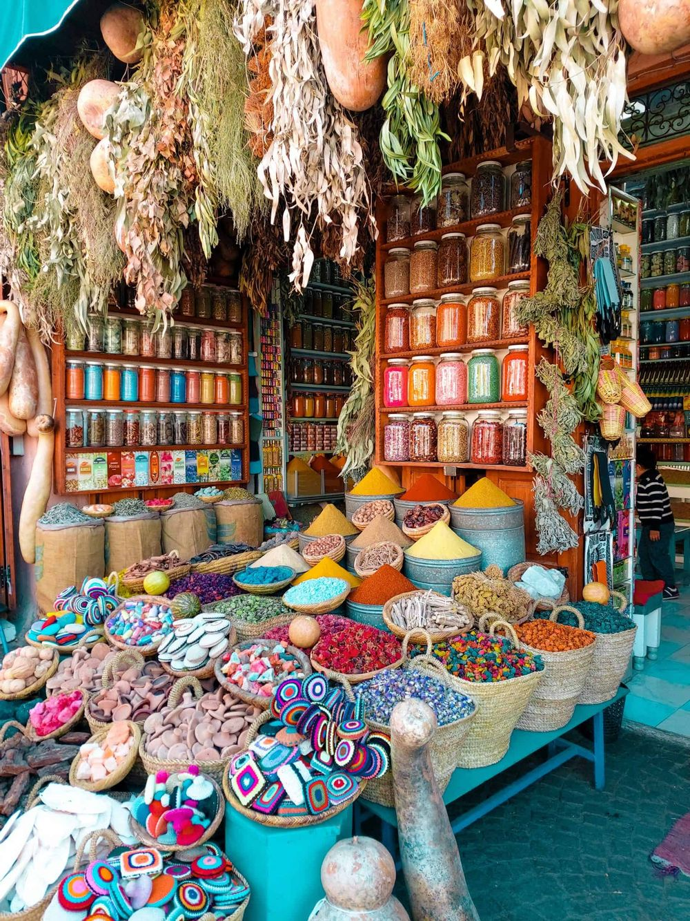 market goods in Morocco